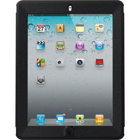 low cost 644b7 50c6d OtterBox Defender for iPad 3/4 Black