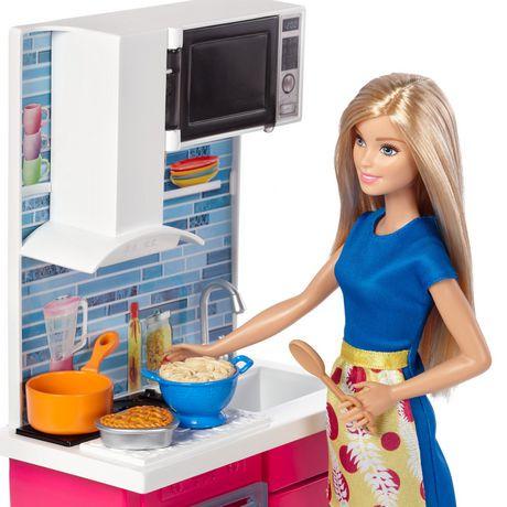 barbie meubles et accessoires cuisine walmart canada. Black Bedroom Furniture Sets. Home Design Ideas