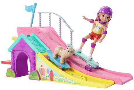 Barbie Club Chelsea Skate Park Doll Amp Puppy Walmart Canada