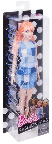Barbie Fashionistas – Poupée Motif denim - image 5 de 5