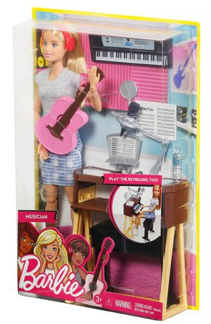 Barbie Musician Doll Amp Playset Walmart Canada