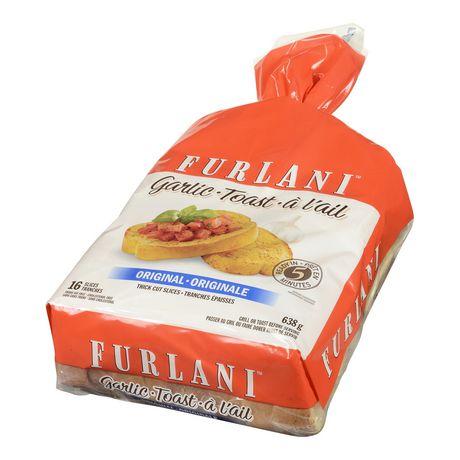 FURLANI Garlic Toast Original | Walmart Canada Garlic Bread Brands