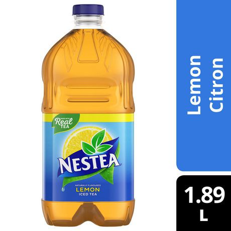 Nestea Natural Lemon Iced Tea | Walmart Canada Nestea Can