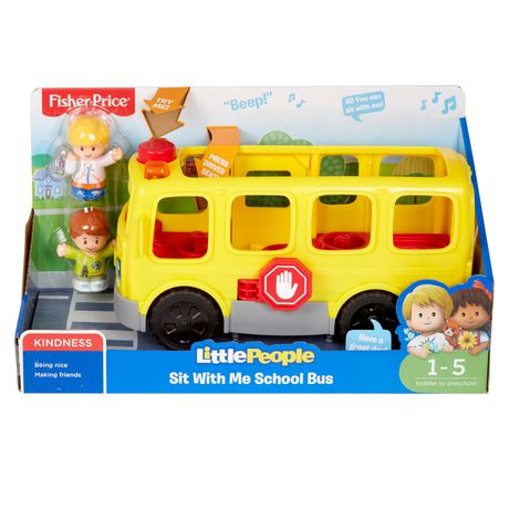 Fisher-Price Little People Sit with Me School Bus - English Edition ...