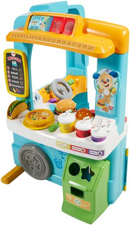 Fisher-Price Laugh & Learn Servin' up Fun Food Truck - English Edition - image 8 of 9