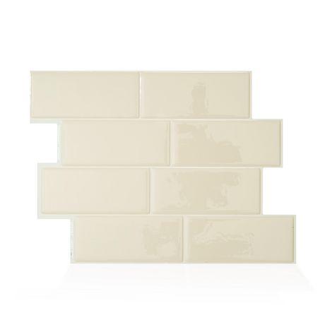 Pleasing Metro Gallino 11 56 In W X 8 38 In H Peel And Stick Mosaic Self Adhesive Wall Tile Backsplash Download Free Architecture Designs Itiscsunscenecom