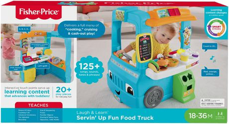 Fisher-Price Laugh & Learn Servin' up Fun Food Truck - English Edition - image 9 of 9