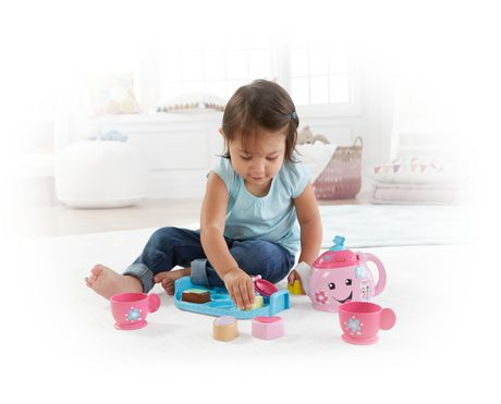 Fisher-Price Laugh & Learn Sweet Manners Tea Set - English