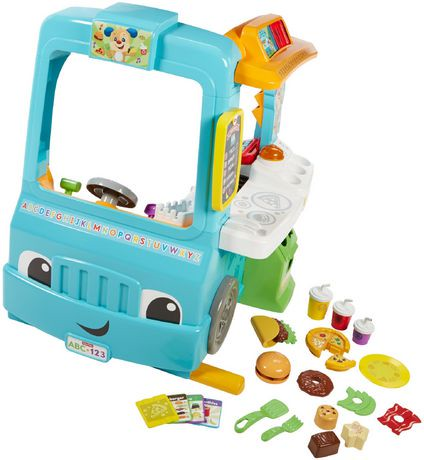 Fisher Price Laugh Amp Learn Servin Up Fun Food Truck
