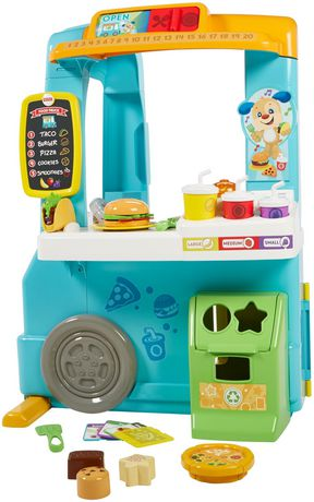 Fisher-Price Laugh & Learn Servin' up Fun Food Truck - English Edition - image 7 of 9