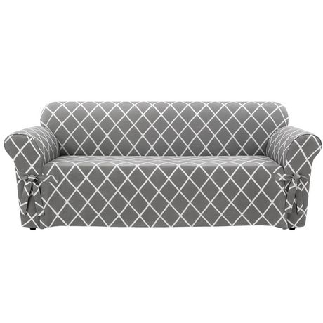 Housse Lattice pour canapé par Sure Fit - image 1 de 4