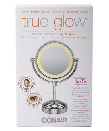 Conair True Glow Soft HALO Lighting Mirror for A Gentle Glow - image 3 of 3