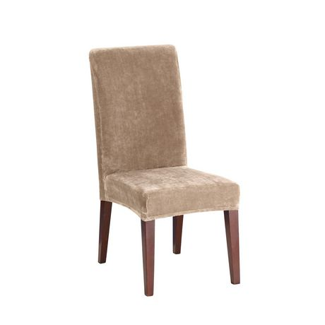 Sure Fit Stretch Plush Dining Chair Slipcover Walmart Canada
