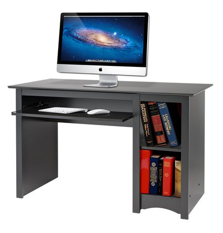 Prepac Computer Desk Black | Walmart Canada