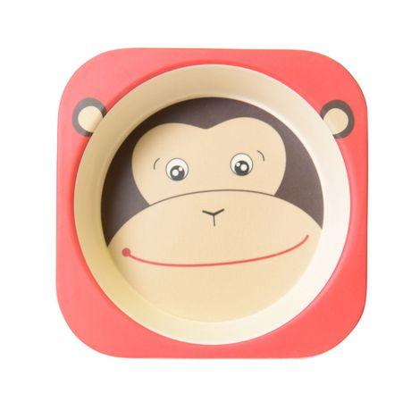 Safety 1st Monkey Bamboo Bowl - image 2 of 4