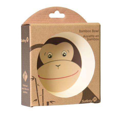 Safety 1st Monkey Bamboo Bowl - image 4 of 4
