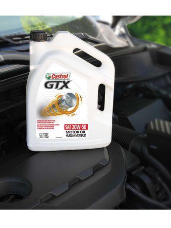 Castrol GTX 20W50 5L Case Pack - image 6 of 6