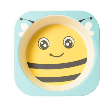 Safety 1st Bumble Bee Bamboo Bowl - image 2 of 4