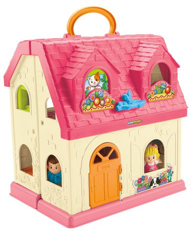Fisher-Price Little People Maison Sons et Surprises – Édition anglaise - image 1 de 8