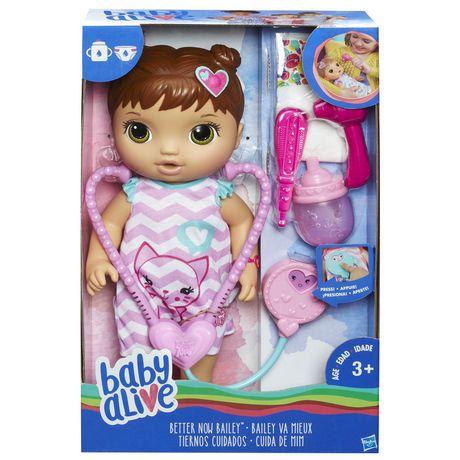 Baby Alive Better Now Bailey (Brunette)