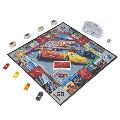 Monopoly Junior Disney Pixar Cars 3 Edition Walmart Canada