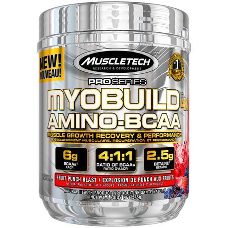 MuscleTech PRO Series Myobuild Bcaa Powder - image 1 of 4