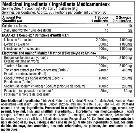 MuscleTech PRO Series Myobuild Bcaa Powder - image 4 of 4