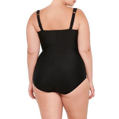 Krista Plus 1pc Swimsuit - image 2 of 2