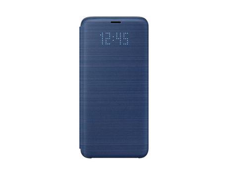 Coque Samsung Galaxy S9 LED View Bleu
