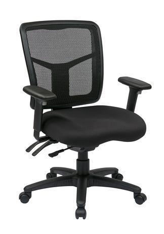 chaise de direction office star pro line avec hauteur du dossier ajustable walmart canada. Black Bedroom Furniture Sets. Home Design Ideas