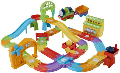 Thomas and Friends Thomas & Friends Railway Pals Deluxe Set - French ...