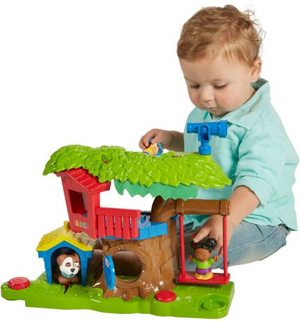 Fisher-Price Little People Swing & Share Treehouse ...
