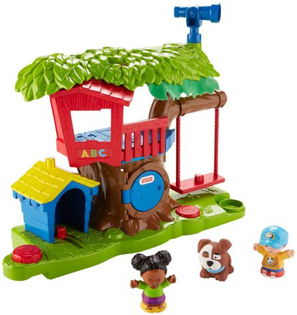Fisher Price Little People Swing Share Treehouse French Edition