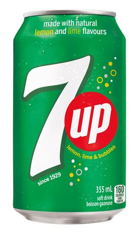 7UP Soft Drink, 355 mL Cans, 24 Pack - image 2 of 2