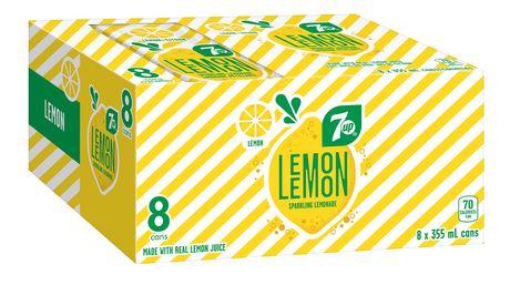 7UP Lemon Lemon Original Lemon - image 1 of 3