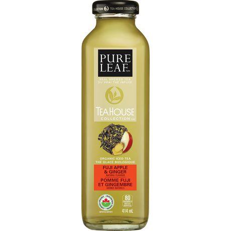Lipton Pure Leaf Tea House Collection Pomme Fuji et Gingembre 414mL - image 1 de 3