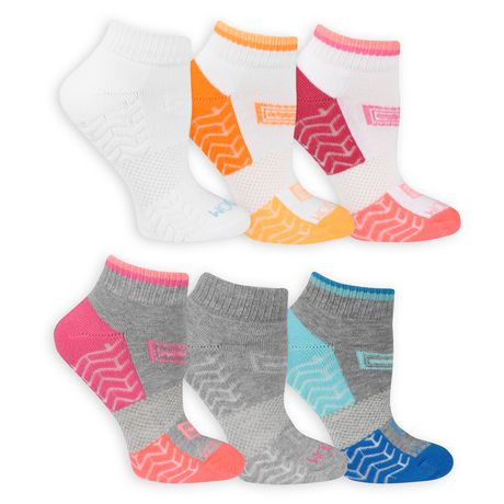 Fruit of the Loom Ladies Ankle Quater Socks- 6 Pack - image 2 of 3