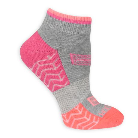 Fruit of the Loom Ladies Ankle Quater Socks- 6 Pack - image 3 of 3