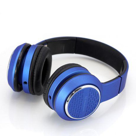 blackweb Over-Ear Premium Series Headphones - Blue - image 1 of 6