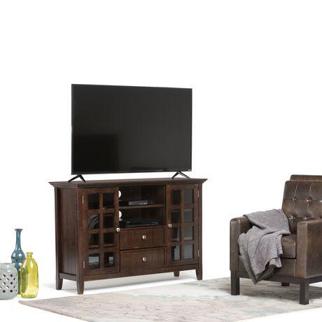 Grand meuble t l normandy de wyndenhall en brun tabac walmart canada - Grand meuble tele ...