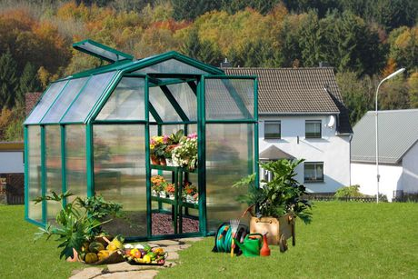 Rion EcoGrow Greenhouse 6' 6'' X 8' 6 '' - image 2 of 2