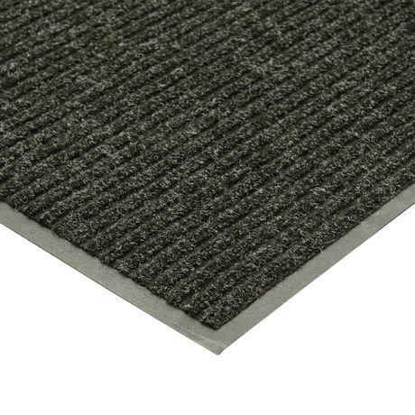 Mainstays Platinum Rubber Back Charcoal Mat Walmart Canada
