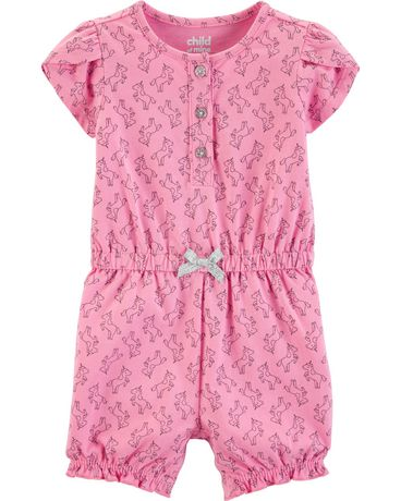 2ac85f0820 Child of Mine made by Carter s Newborn girls  1 piece Outfit - unicorn -  image ...