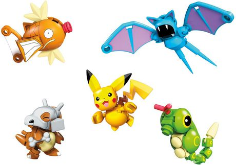 Mega Construx Pokemon Poke Ball Bundle Construction Set - image 1 of 7