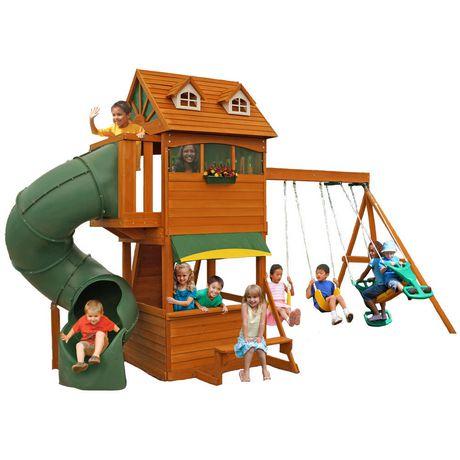 Cedar Summit Forest Hill Retreat Wooden Play Set F23180