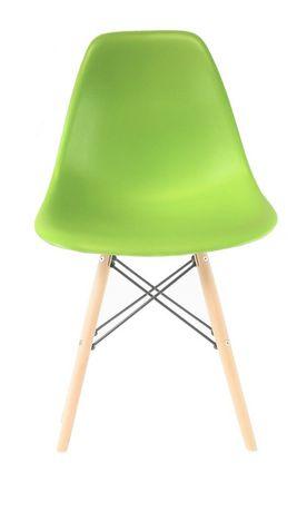 Chaise Eiffel Wood Vert Pomme