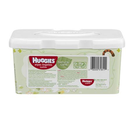 Huggies Natural Care Fragrance Free Wipes Tub Walmart Canada