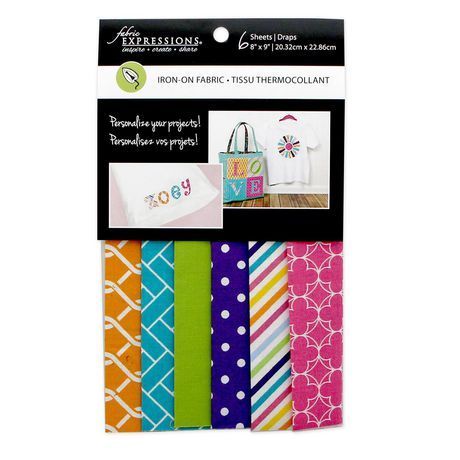 Tissu thermocollant Fabric Expressions de Fabric Creations de 8 x 9 po - image 1 de 1