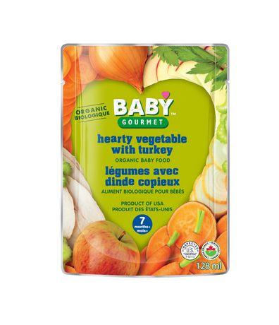 Baby Gourmet Foods Inc Légumes avec dinde copieux Biologique - image 1 de 1