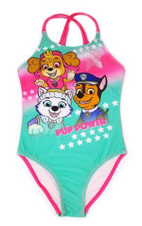97de153607 Paw Patrol Girls' 1 Piece Swimsuit   Walmart Canada